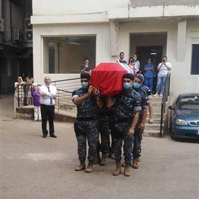 زغرتا ودعت الرقيب أول في قوى الأمن الشهيد توفيق الدويهي
