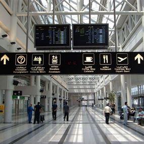 اشكال بين مسؤولين أمنيين في مطار بيروت