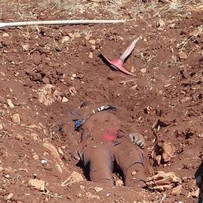 بالصور: قتله ودفنه في البستان بسبب علاقة عاطفية مع زوجته