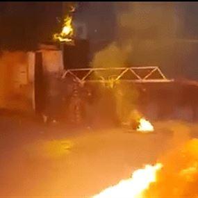 توتر وإطلاق نار أمام سرايا طرابلس (فيديو)
