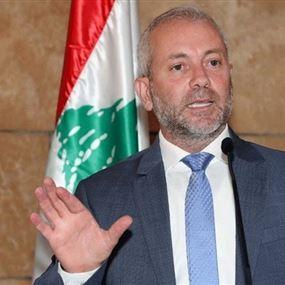 حبشي تقدّم بكتاب معلومات جديد من وزارة الاتصالات (صور)