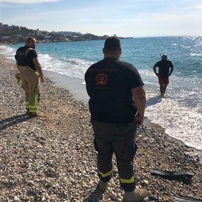 عُثر عليه جثة مقابل شاطىء العقيبة