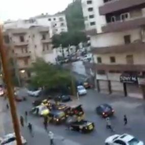 بالفيديو: بعد الأشرفية وبيروت.. موكب لحزب الله في الزلقا