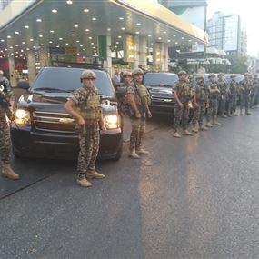 بالصور: أمن الدولة نزل عالأرض.. تنفيذاً للخطة الأمنية الموضوعة