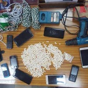 عصابة من السوريين لتهريب المخدرات بحبال الستائر!