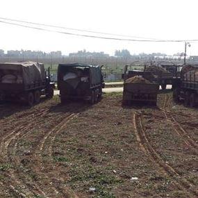الجيش يداهم مزرعة ويصادر كمية من حشيشة الكيف