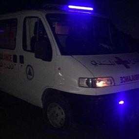 نقل جثة مواطن من بلونة الى مستشفى الحاج