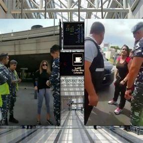 جهاز أمن المطار يوضح ملابسات شريطي فيديو السيدتين