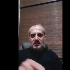 بالفيديو.. المنشد علي بركات يدعو لقتل النائب خالد الضاهر