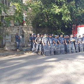 اشكال خلال اعتصام القومي امام قصر العدل (فيديو)