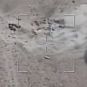 بالفيديو.. الجيش يقصف مراكز داعش في جرود رأس بعلبك والقاع