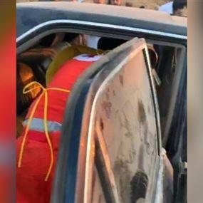 العثور على شابين مقتولين داخل سيارة في جرد مشمش