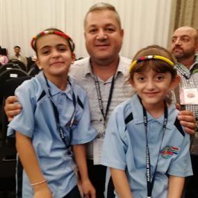 طفلة لبنانية تفوز بلقب بطولة العالم في الحساب الذهني