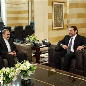 ماذا دار بين ولايتي والحريري قبيل استقالة الاخير؟!