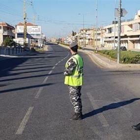 قوى الأمن: إنتهاء العمل بإقفال القرى والبلدات ولكن...