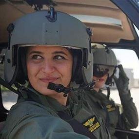شانتال وريتا.. الطيارتان المتميزتان في سلاح الجو اللبناني