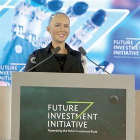 صوفيا... أول روبوت بالعالم يُمنح الجنسية وجواز السفر