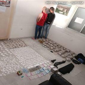 ضبط كمية كبيرة من المخدرات بعملية دهم في الشياح