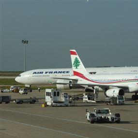 بلبلة بمطار بيروت بعد تعطّل محرك الطائرة!