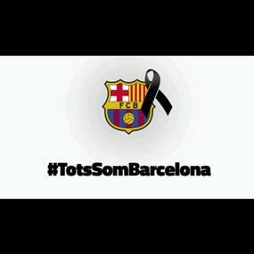 نادي برشلونة يدين العمل الإرهابي في بلاده