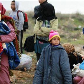 35 سورياً بينهم 15 طفلاً دخلوا خلسة إلى لبنان