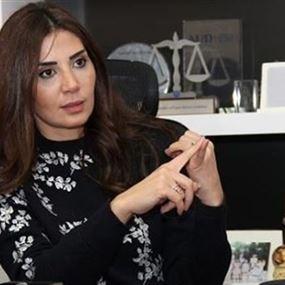 الصورة الأولى للمقدم سوزان الحاج بعد فصلها