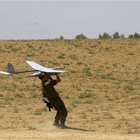 تحطم طائرة تجسس إسرائيلية