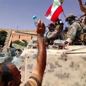 الجيش اللبناني يعلن وقف اطلاق النار في فجر الجرود