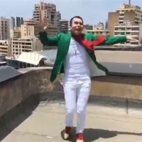 بالفيديو: جو رعد يرقص فرحاً لإنتخاب بري:
