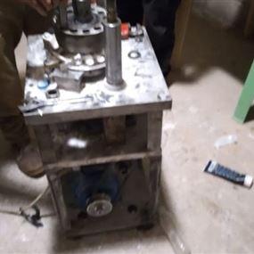 ضبط معمل بداخله معدات وآلات لتصنيع المخدرات