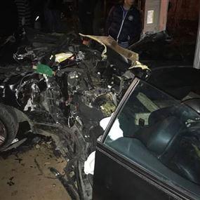 بالصور: جريح إثر حادث سير  في بولونيا - المتن