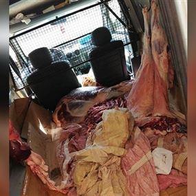 سوري يبيع لحوم فاسدة في سيارة رابيد!