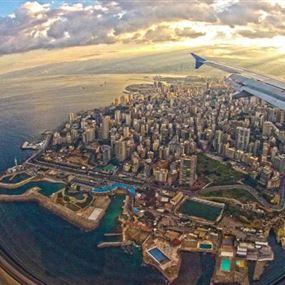 لبنان ينجو بأعجوبة.. كارثة كادت أن تصيب ركّاب طائرتين مدنيتين
