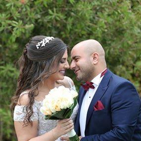 بالصور والفيديو: زفاف أسطوري لرجل الأعمال الغصين والطبيبة محفوظ