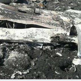 سقوط طائرة تابعة للحرس الثوري الايراني
