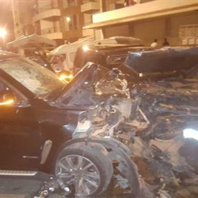 ستة جرحى اثر حادث سير في حراجل