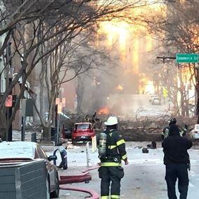 انفجار يهزّ مدينة ناشفيل الأميركية...