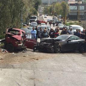 بالصورة: قتيل وجريح بحادث سير في البترون