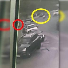 بالفيديو: لحظة الإعتداء على الناشط والمحامي واصف الحركة