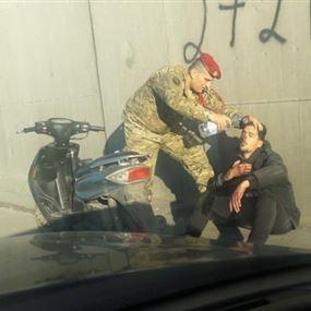 بالصور: إنسانية برتبة وطن!