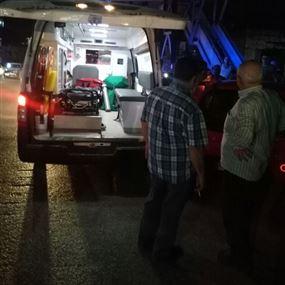 جريحة نتيجة حادث سير على طريق حلبا