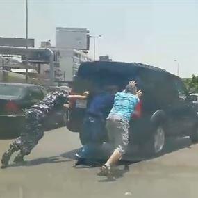 بالفيديو: عنصر سير نشيط في انطلياس