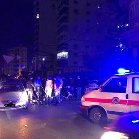صدمته سيارة في رأس بيروت