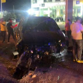 وائل كفوري يتعرّض لحادث سير مروّع (صور)