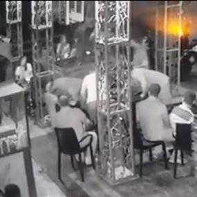 بالفيديو: أصيب برصاصة طائشة في أحد مقاهي الغبيري