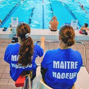 اختباري كفاءة لإجازة منقذ سباحة
