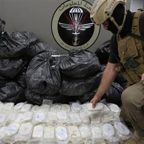 مخدرات بملايين الدولارات.. ورئيس العصابة يشكل شبكة امنية!