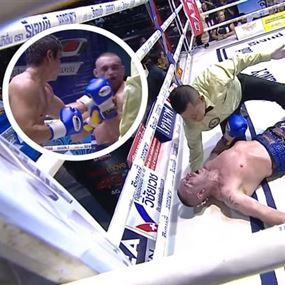 بالفيديو: الضربة القاضية تقتل بطلا في الملاكمة!