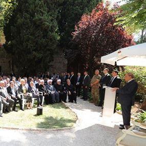 الرئيس عون: المصالحة التي حصلت لن تهتز إن اختلفنا سياسياً