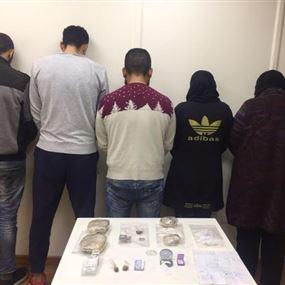 بالصور: عصابة تروّج المخدرات لطلاب الجامعات بطلتاها سيّدتان